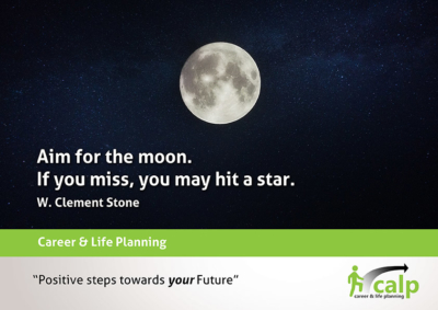 Quote-16 -Aim for the moon