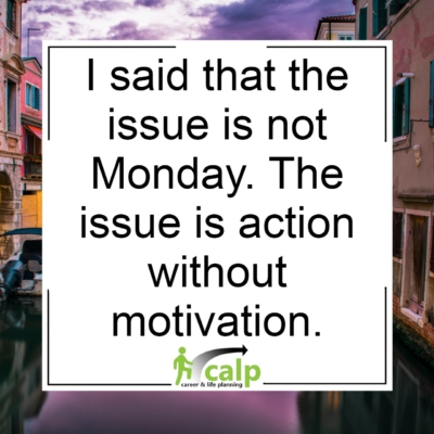 the issue is not monday
